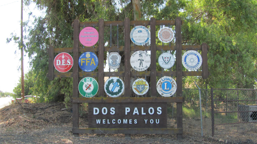 City of Dos Palos Welcome Sign