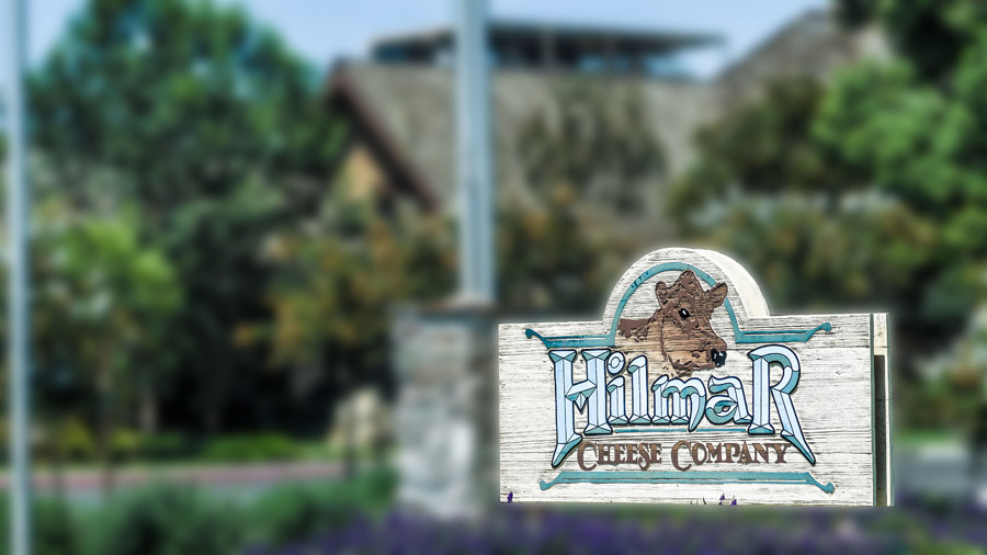 Hilmar Cheese Company Sign